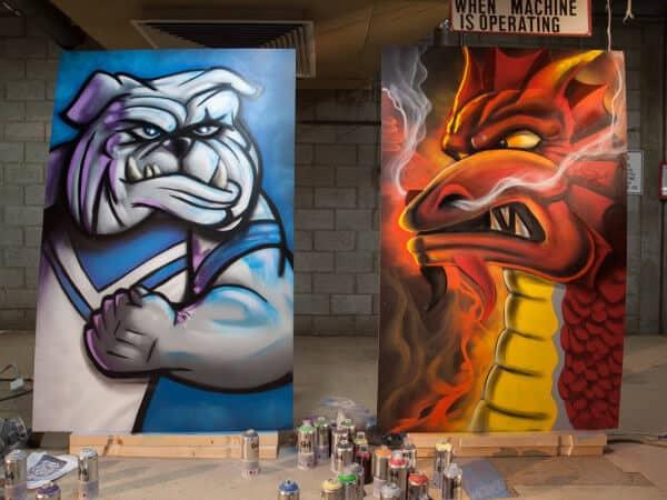 promotional graffiti
