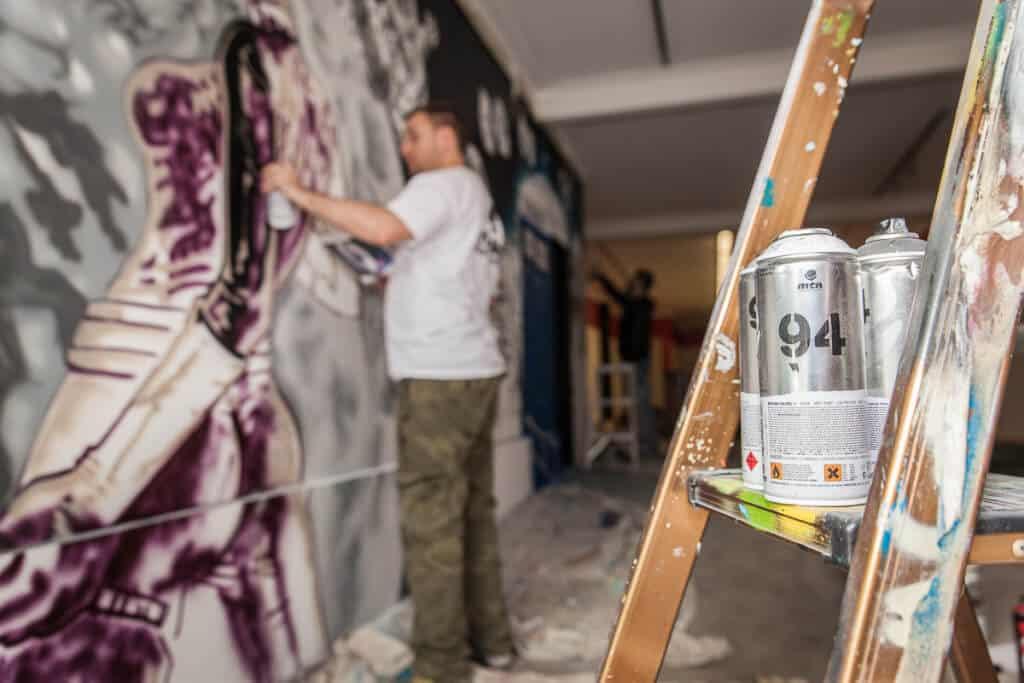 graffiti artists for hire