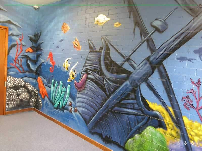 school mural art