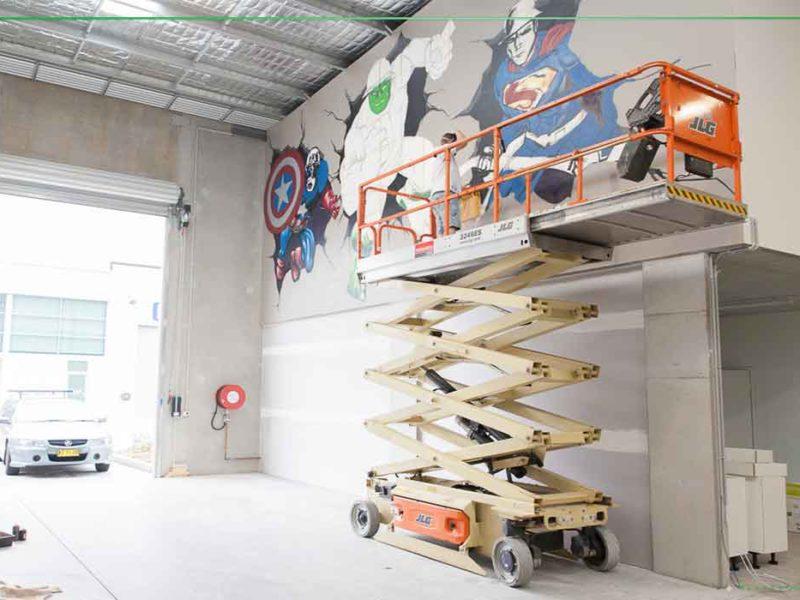warehouse street art
