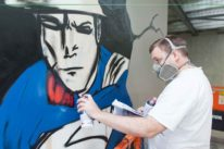 graffiti artist superhero