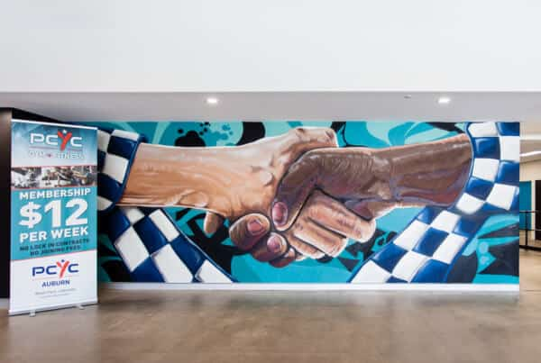 Graffiti murals - community building