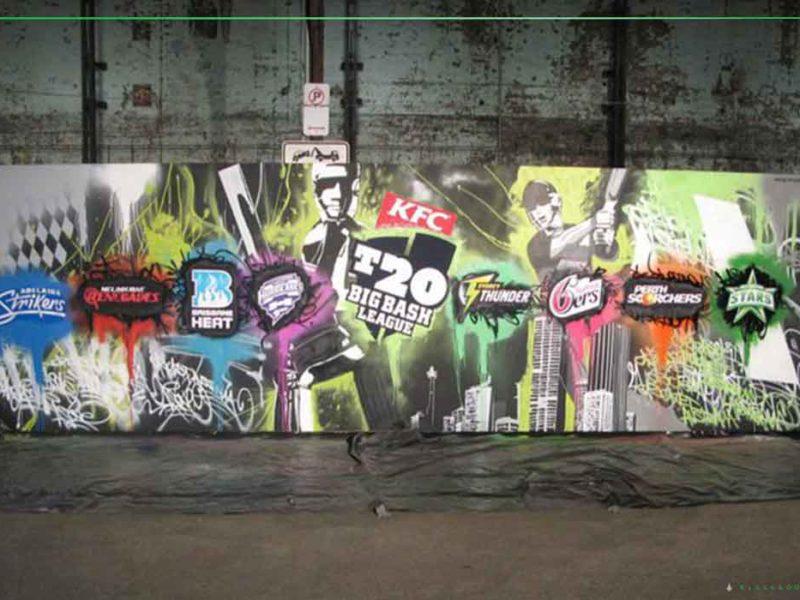 Live graffiti art for events