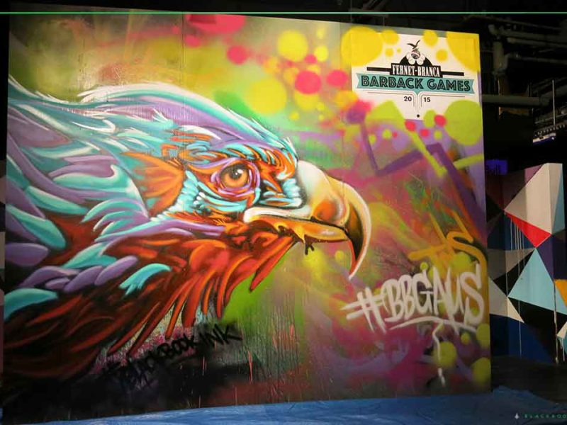 eagle graffiti art