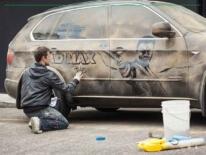 street art dust