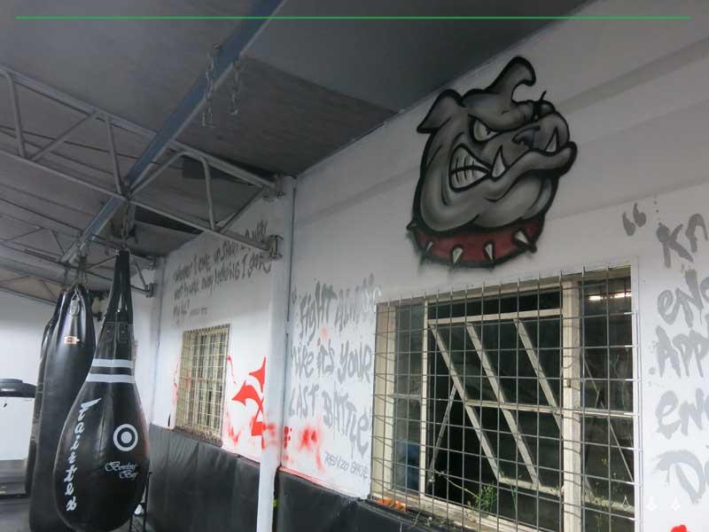 gym street art