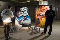 live graffiti artists