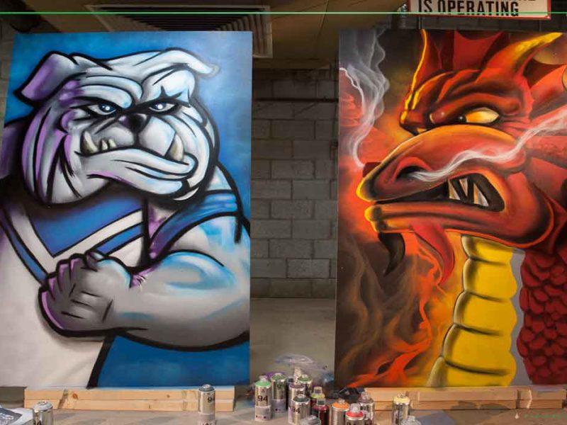 graffiti for events