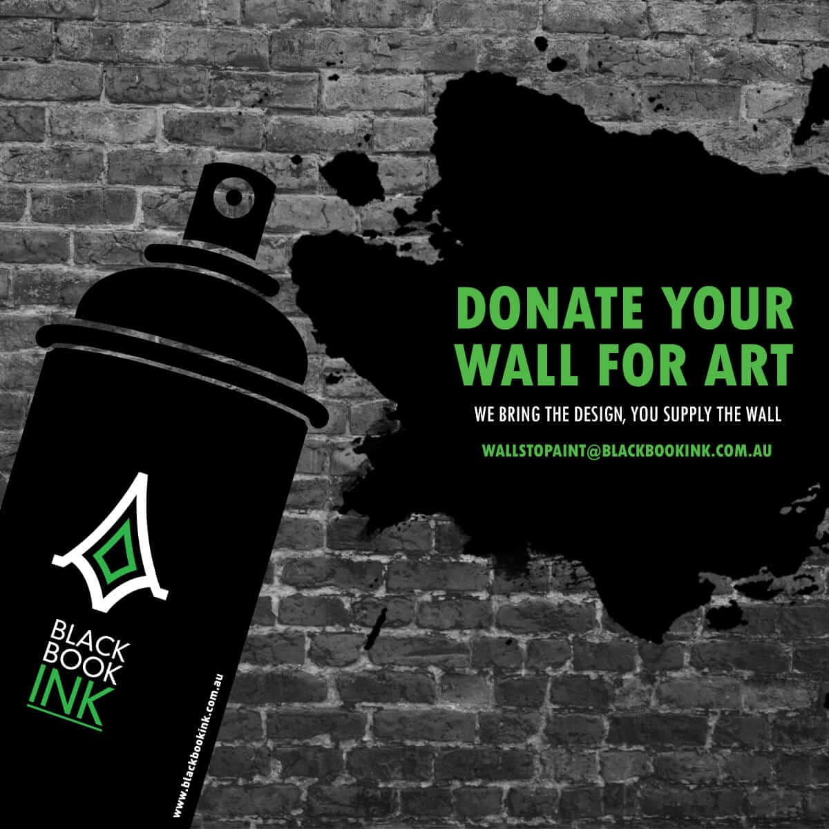 Donate your Wall for Art