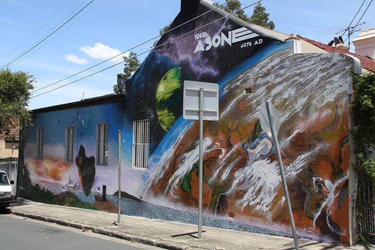 newtown street art