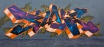 graffiti wall newtown