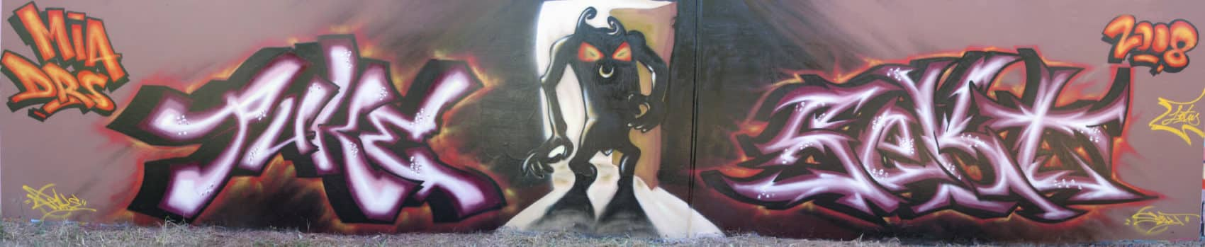 Sydney graffiti artist puke