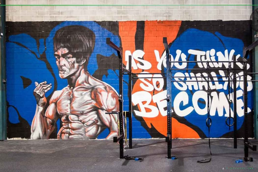 gym graffiti art