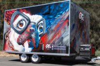 food truck graffiti art