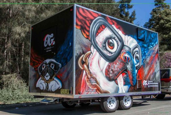 food truck street art