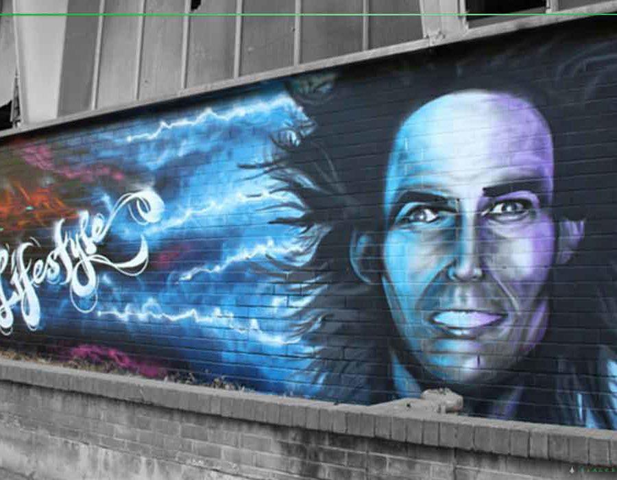 mural artist newcastle