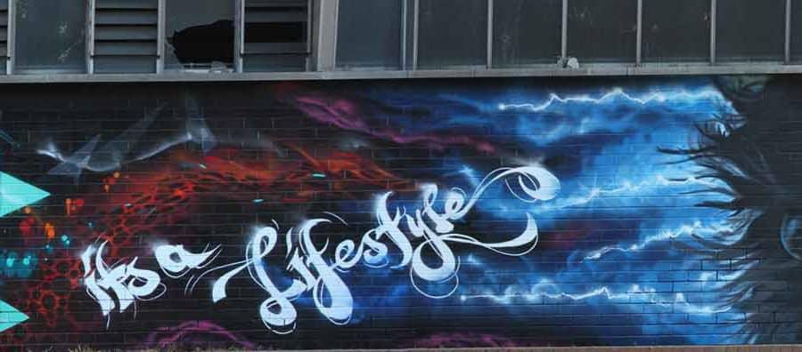 graffiti art newcastle
