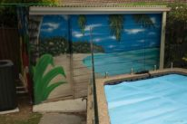 pool street art