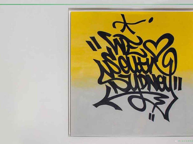 graffiti artist canvas