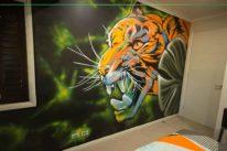 urban art kids bedroom