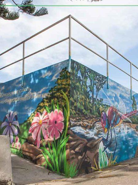 memorial mural