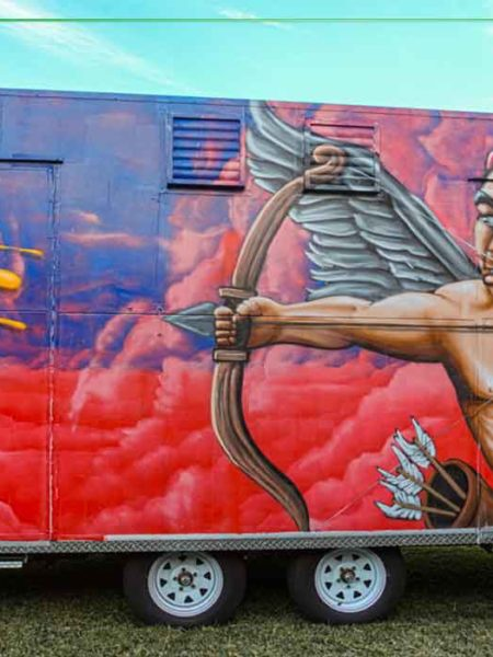 food truck artwork