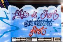 sydney spray paint mural