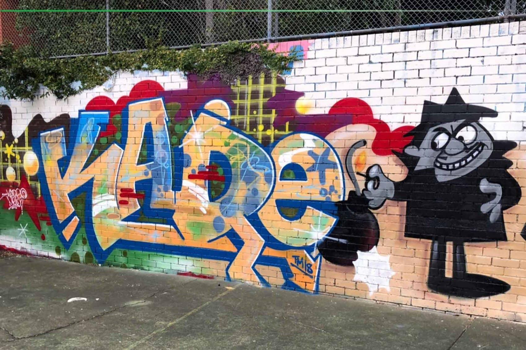 Kade graffiti art