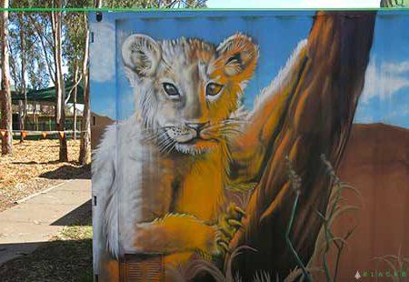 School Graffiti Art