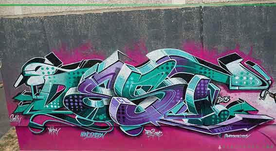 Graffiti Artist from Perth Destroy
