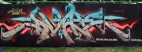 dvate graffiti letters