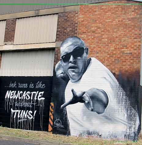 Tuns painted by dvate in Newcastle NSW