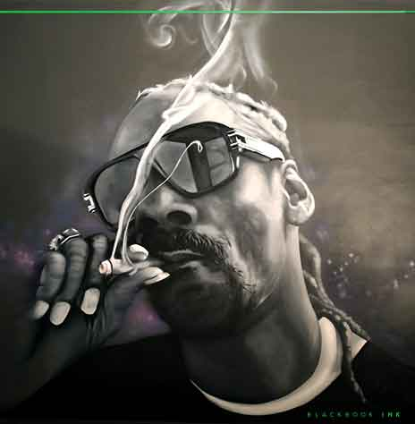 Snoop Dogg Painted by Dvate