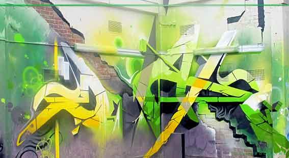 dvate melbourne based graffiti artist