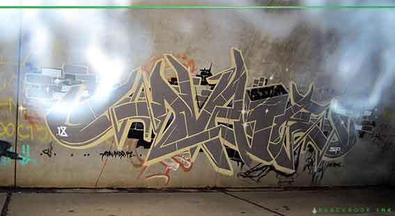 Dvate graffiti