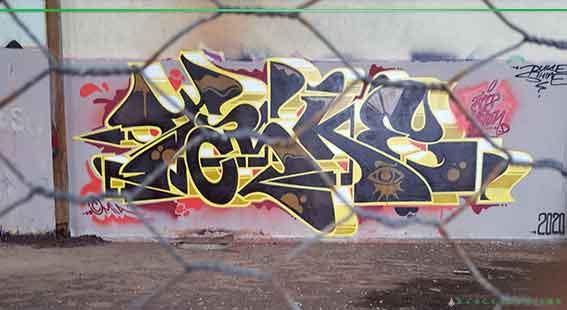 Taske MIA graffiti writer out of Newcastle NSW